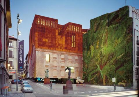 Le green walls di patrick blanc - Giardino verticale madrid ...